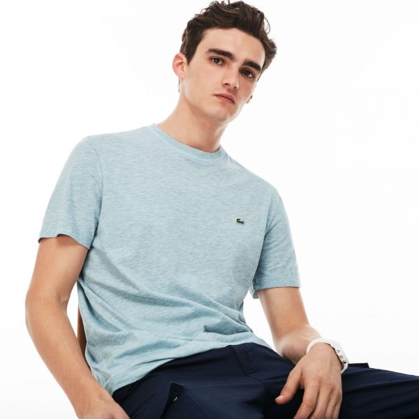 Lacoste Hommes Crew Neck Cotton T-Shirt – RILL